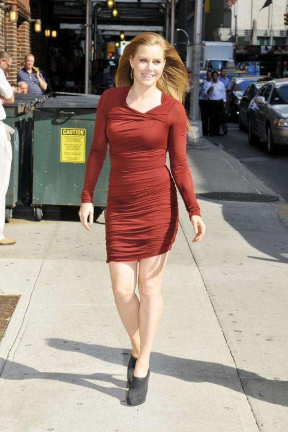 Amy Adams Leggy In Tight Small Dress 10 Gotceleb