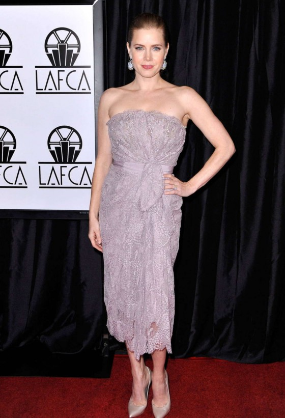 Amy Adams at 38th Annual Film Critics Association Awards in Century City
