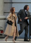 Amy Adams filming American Hustle in Boston -30
