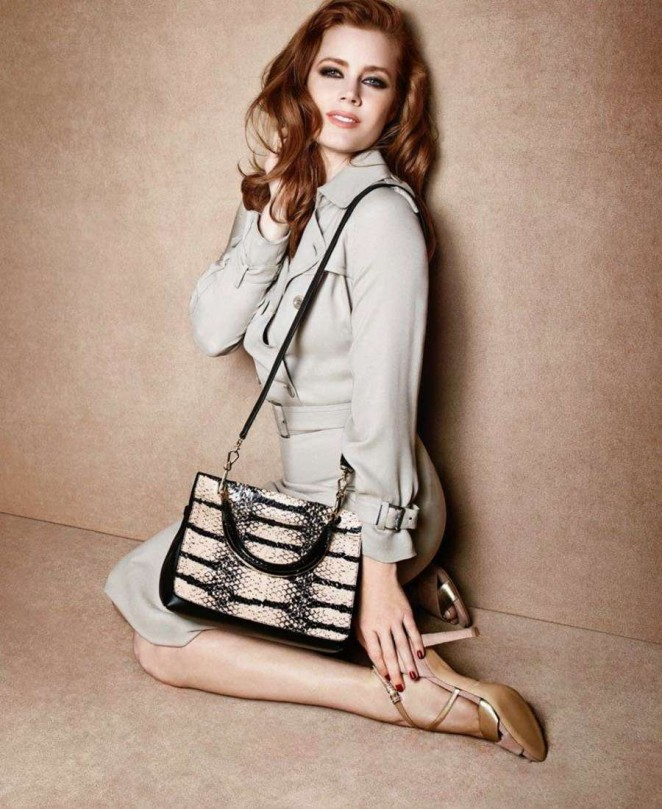 Amy Adams - Max Mara Spring 2015 Accessories