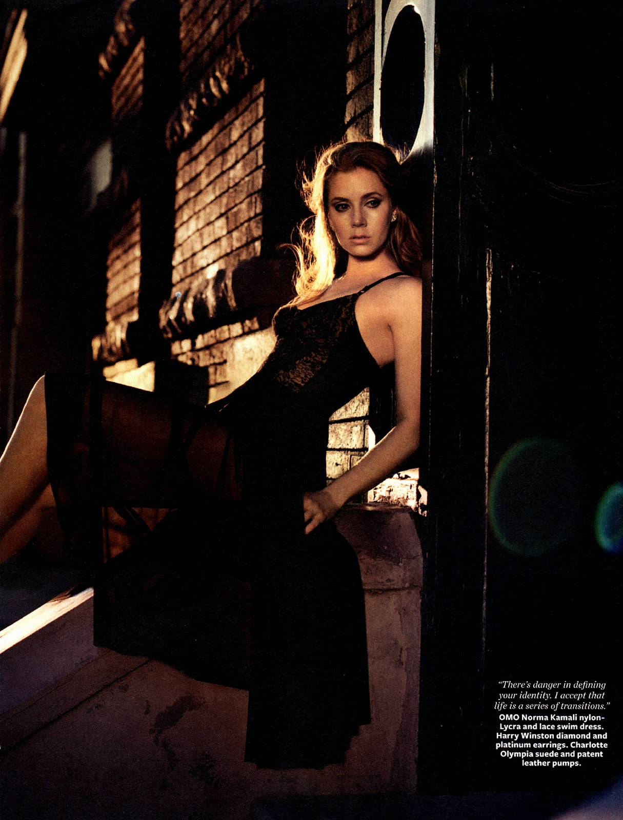 Amy Adams Hot amy adams - hot in red for instyle magazine december 2011