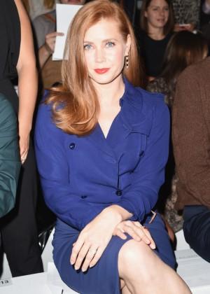 Amy Adams - Max Mara Fashion Show 2014 in Milan