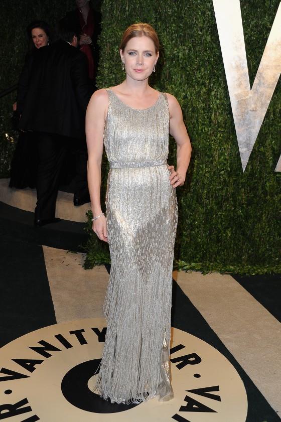 Amy Adams - Oscar 2013 - Vanity Fair Party -01