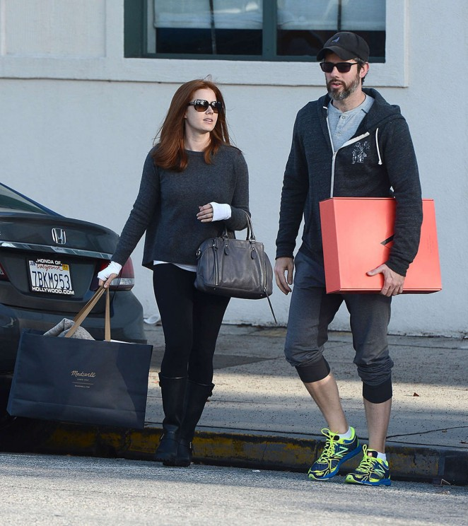 Amy Adams and Darren Le Gallo out and about in Los Angeles