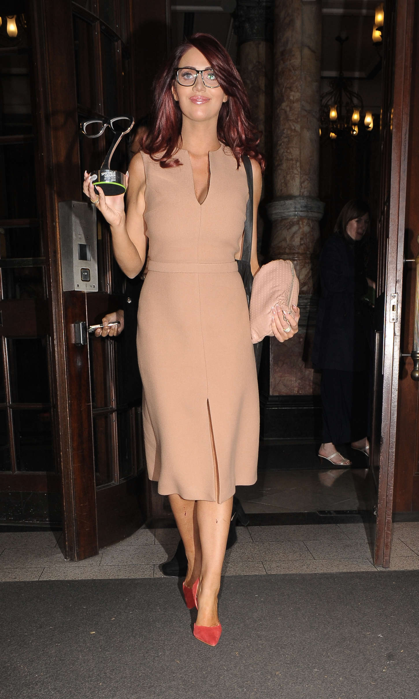 Amy Childs - Specsavers Spectacle Wearer of the Year Awards 2014 in London