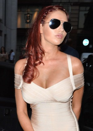 Amy Childs Hot in dress
