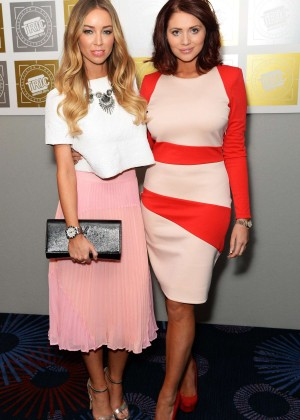Amy Childs and Lauren Pope: TRIC Awards 2014 -06