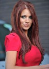 Amy Childs Hot In Red Dress in London-03
