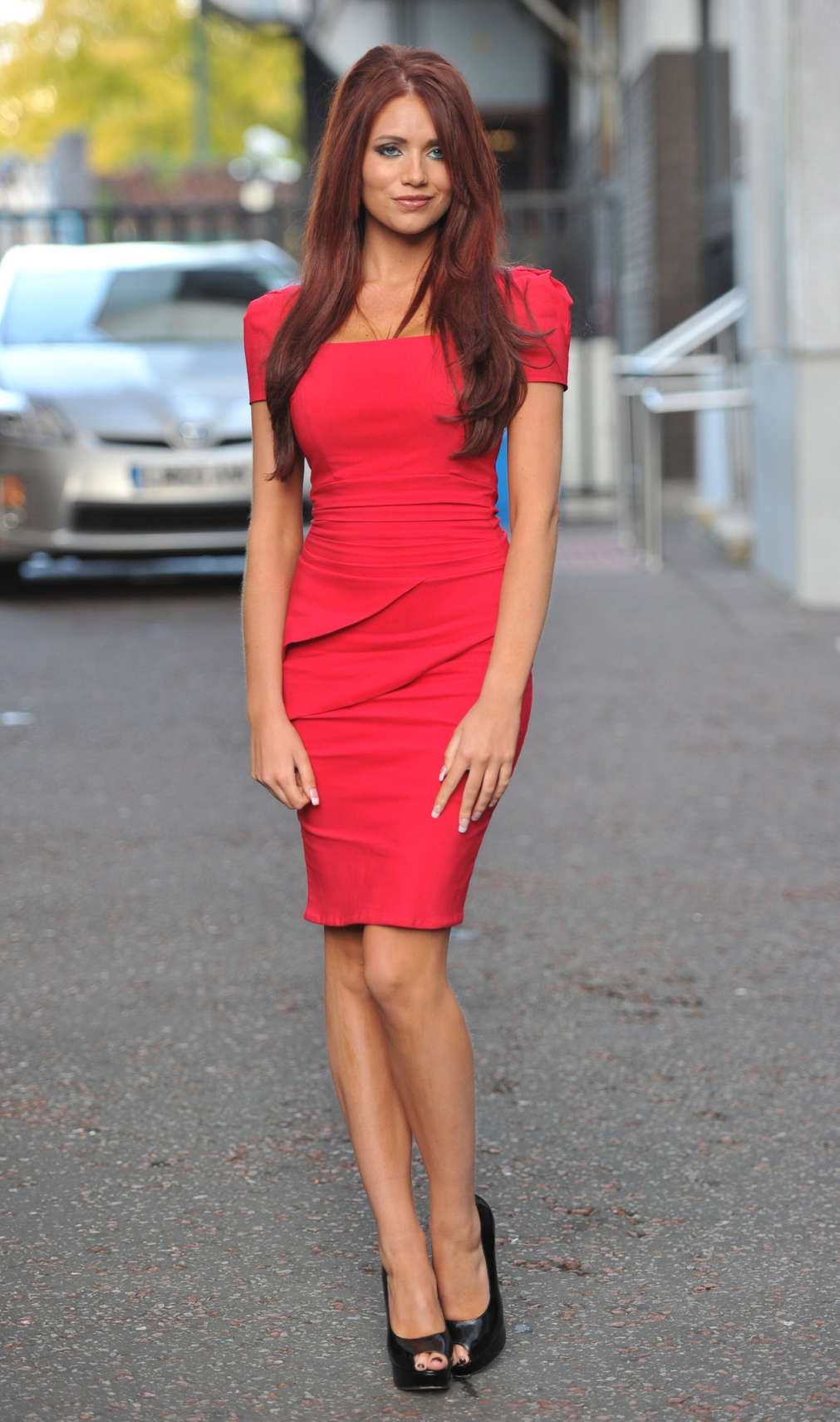 9d2f67fabdc Amy Childs Hot In Red Dress in London-09 – GotCeleb