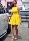 Amy Childs show legs in dress-12