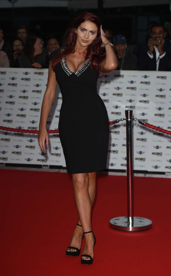Amy Childs – MOBO Awards in London