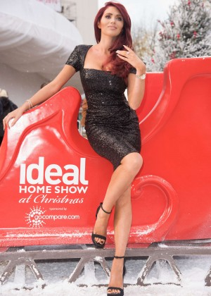 Amy Childs - Opening of 'The Ideal Home Show At Christmas' in London