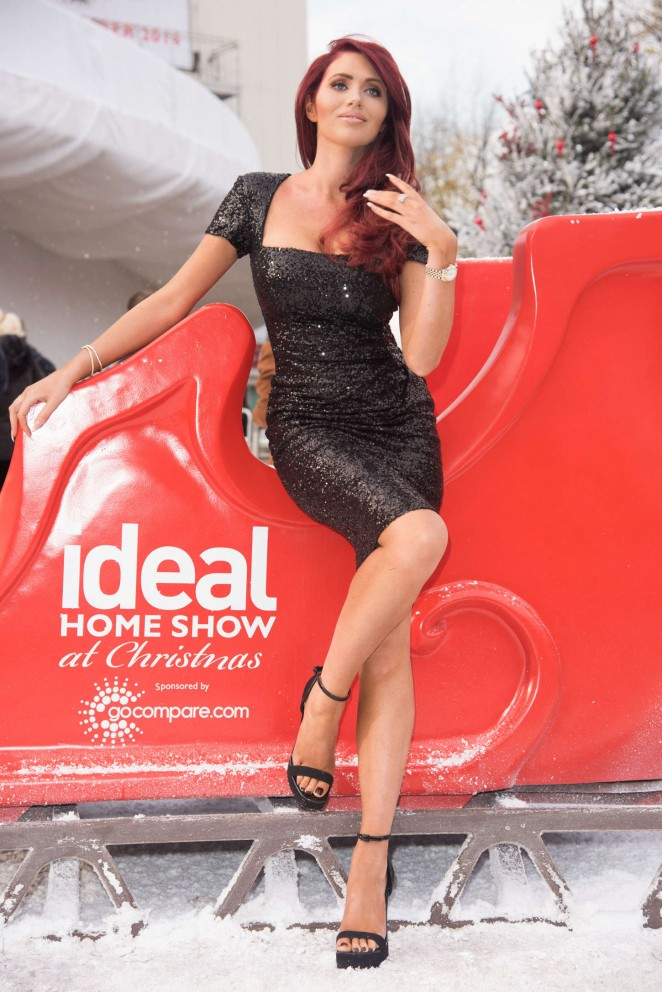 Amy Childs – Opening of 'The Ideal Home Show At Christmas' at Earl's Court in London