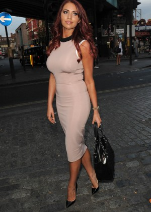 f47b1558a6d Amy Childs Hot In Red Dress in London-11 – GotCeleb