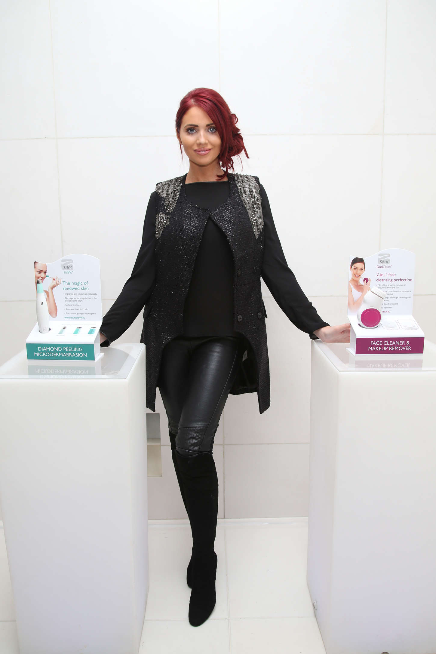 Amy Childs - Silk'n Blogger Party in London