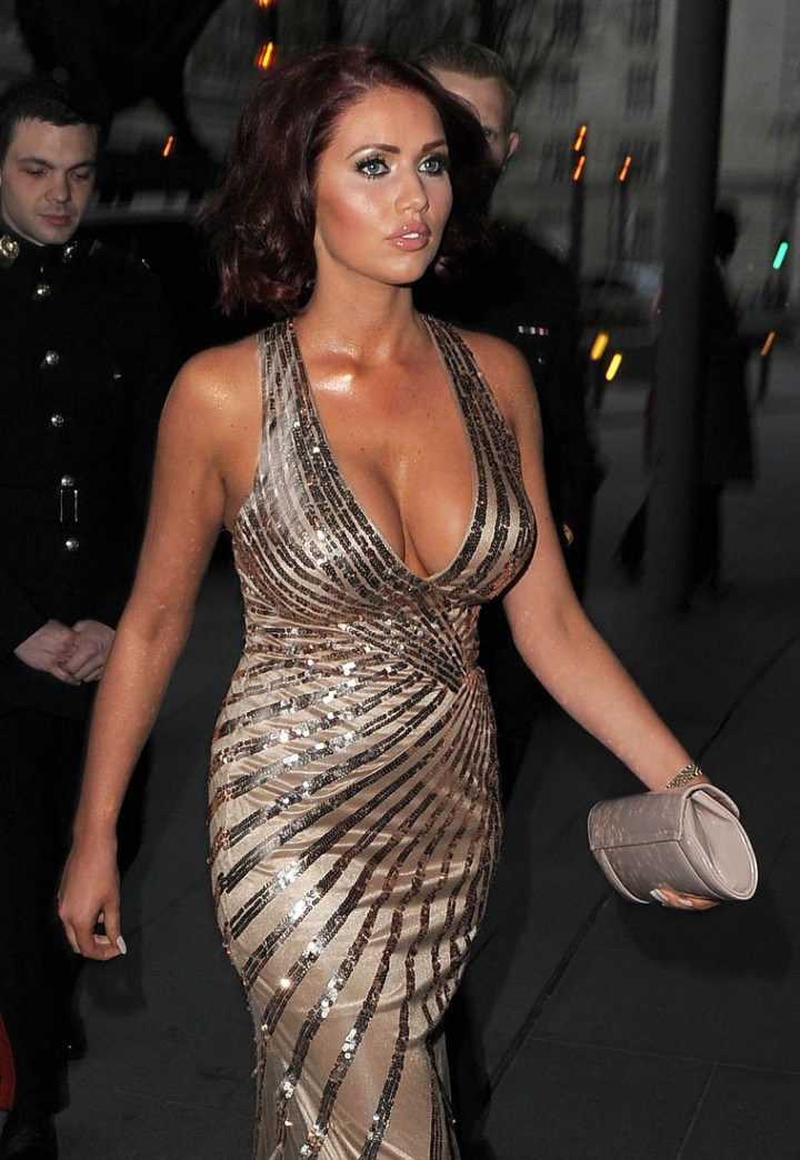 Amy Childs: 2014 Soldiering on Awards -02
