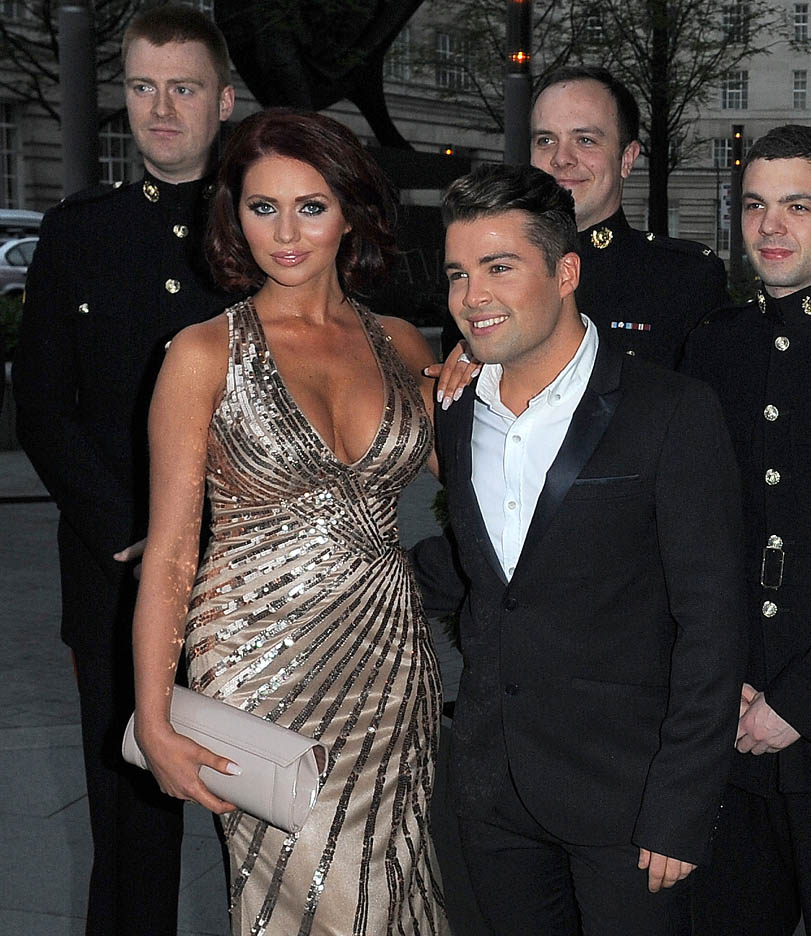 Amy Childs: 2014 Soldiering on Awards -03