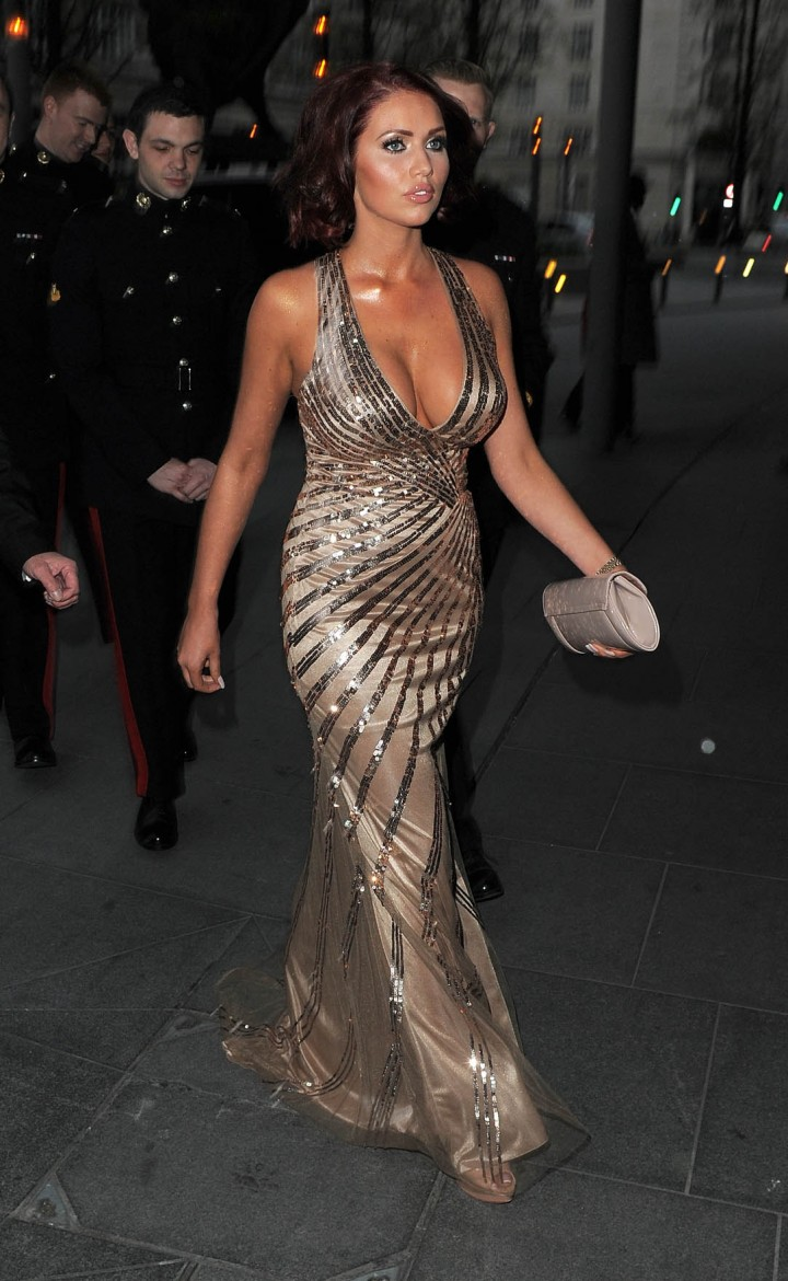 Amy Childs: 2014 Soldiering on Awards -04
