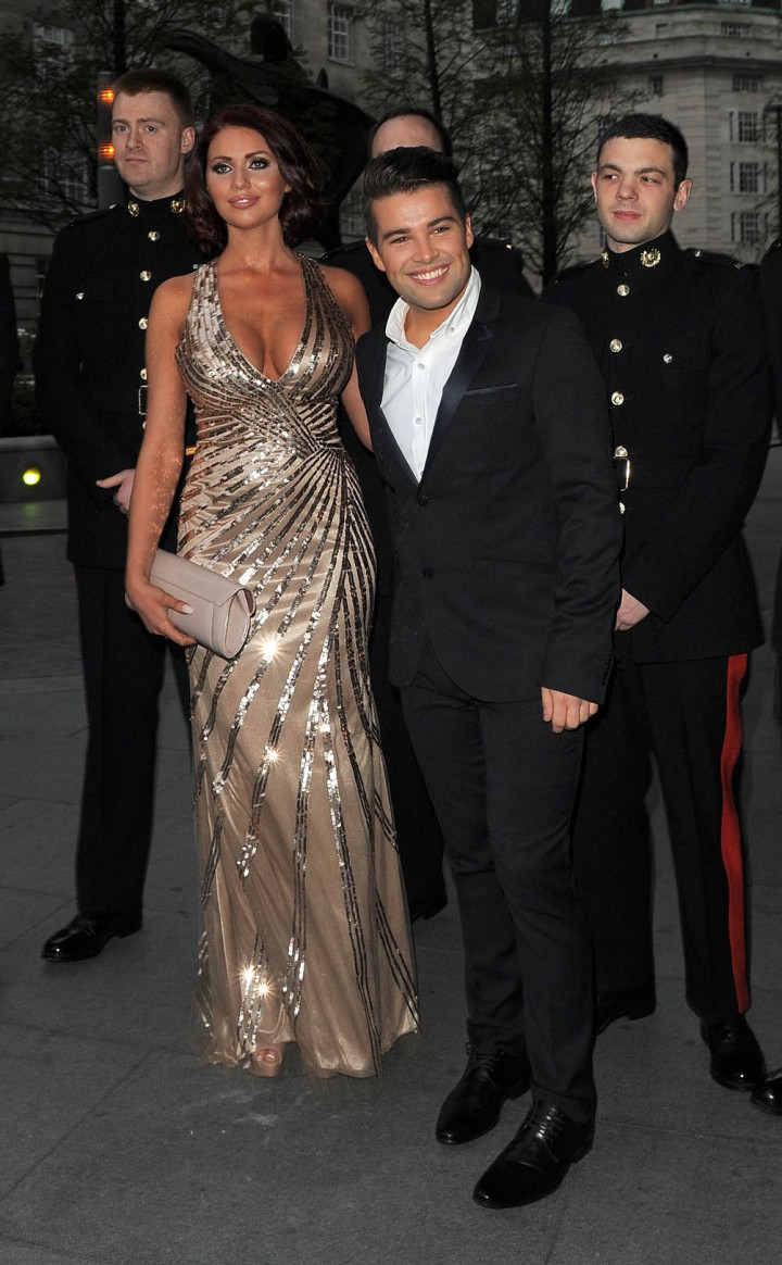 Amy Childs: 2014 Soldiering on Awards -08