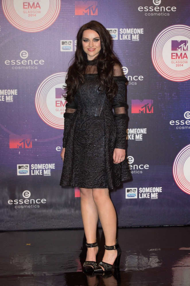 Amy Macdonald - 2014 MTV Europe Music Awards 2014 in Glasgow