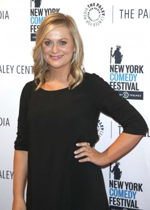 """Amy Poehler - """"Id Isn't Always Pretty: An Evening with Broad City"""" Panel Discussion in New York"""