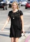 Amy Smart Leggy candids in Hollywood -01