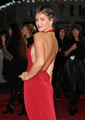 Amy Willerton - 'The Hunger Games: Mockingjay Part 1' Premiere in London