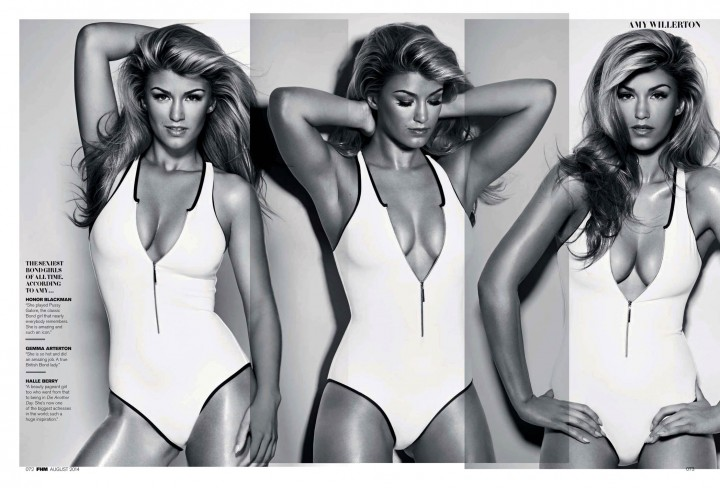 Amy Willerton Hot Photos: FHM 2014 -05