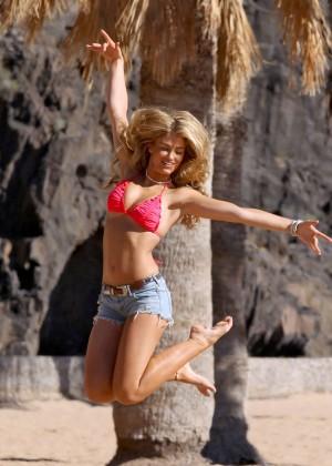 Amy Willerton Bikini Photos: 2014 in Spain -09
