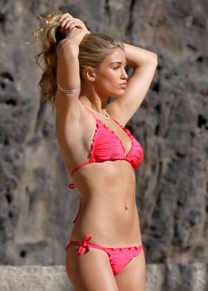 Amy Willerton Bikini Photos: 2014 in Spain -12