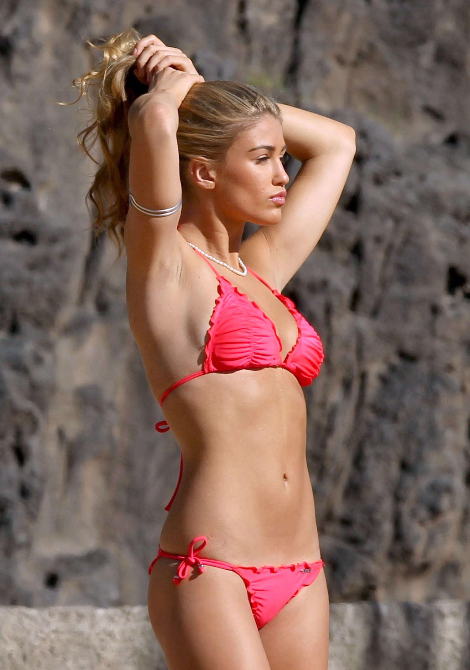 Amy Willerton 2014 : Amy Willerton Bikini Photos: 2014 in Spain -12