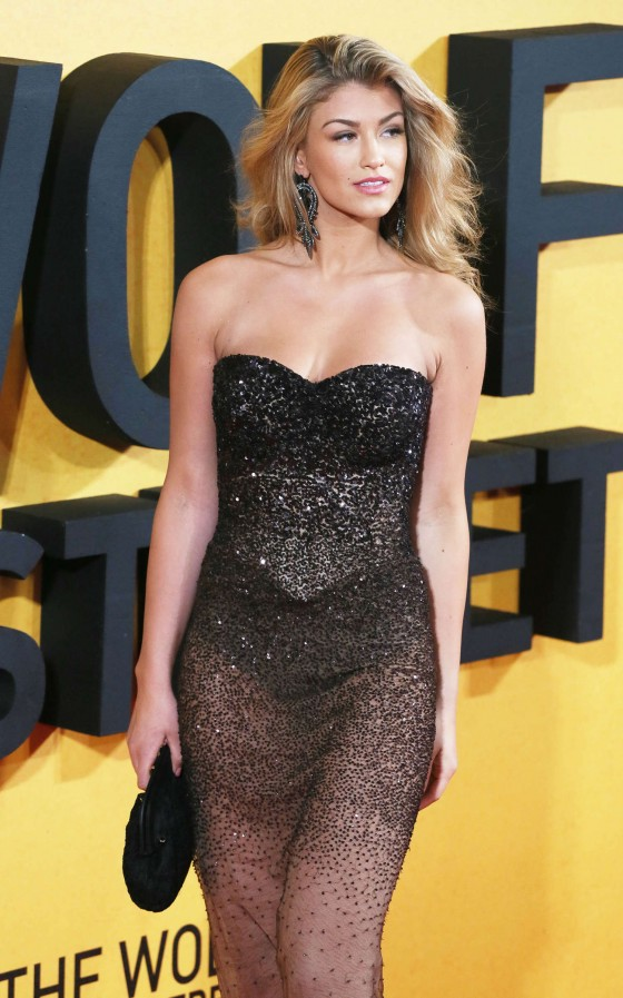 Amy Willerton: The Wolf of Wall Street Premiere -07