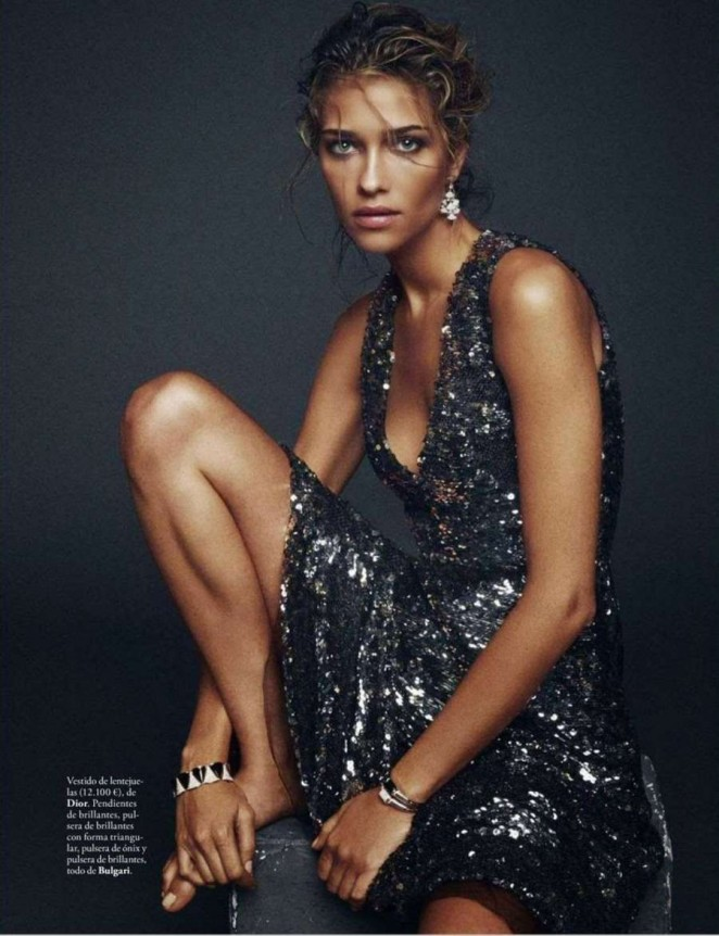 Ana Beatriz Barros - Elle Spain Magazine (January 2015)