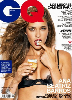 Ana Beatriz Barros - GQ Mexico Magazine Cover (November 2014)