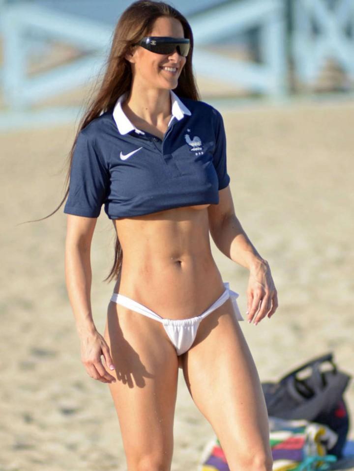 Ana Braga and Anais Zanotti Bikini Photos: 2014 in Miami -29