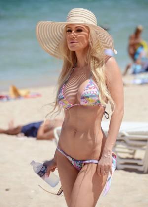 Ana Braga in Tiny Bikini -02