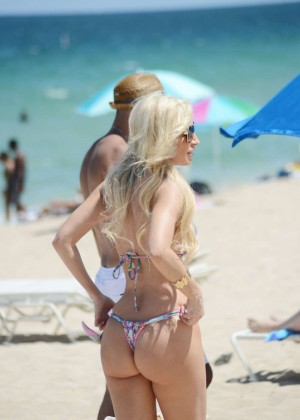 Ana Braga in Tiny Bikini -03