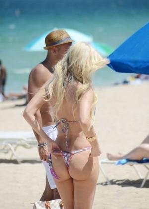 Ana Braga in Tiny Bikini -06