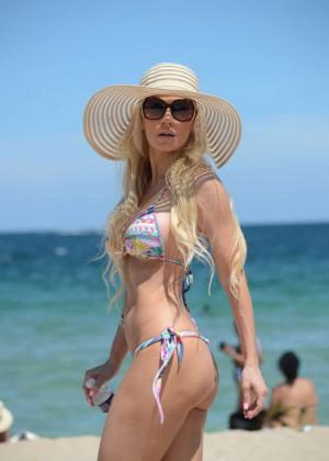 Ana Braga in Tiny Bikini -10