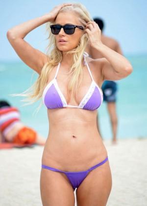 Ana Braga Bikini Photos: 2014 Miami -03