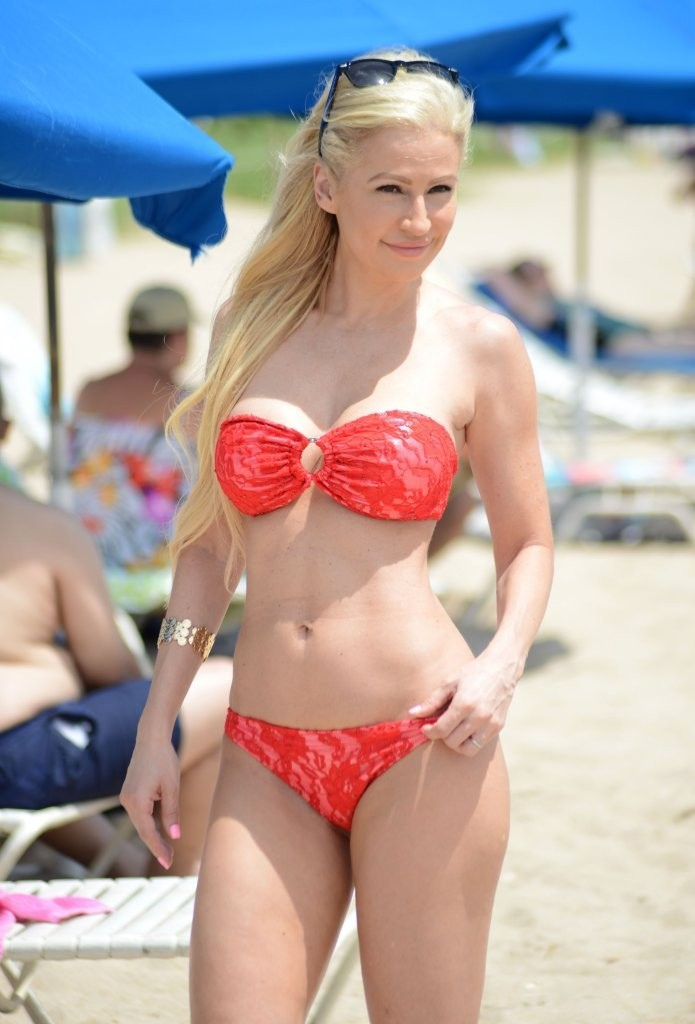 Ana Braga - Wearing Bikini at the Beach in Miami