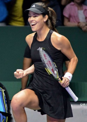 Ana Ivanovic at WTA Finals 2014 in Singapore