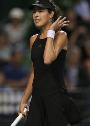 Ana Ivanovic - Toray Pan Pacific Open at Ariake Colosseum in Tokyo, Japan
