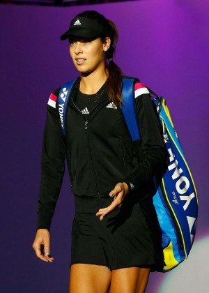 Ana Ivanovic - WTA Finals 2014 in Singapore