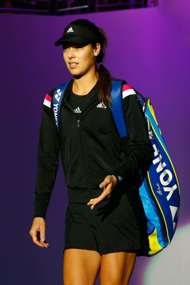 Ana Ivanovic - WTA Finals 2014 in Singapore