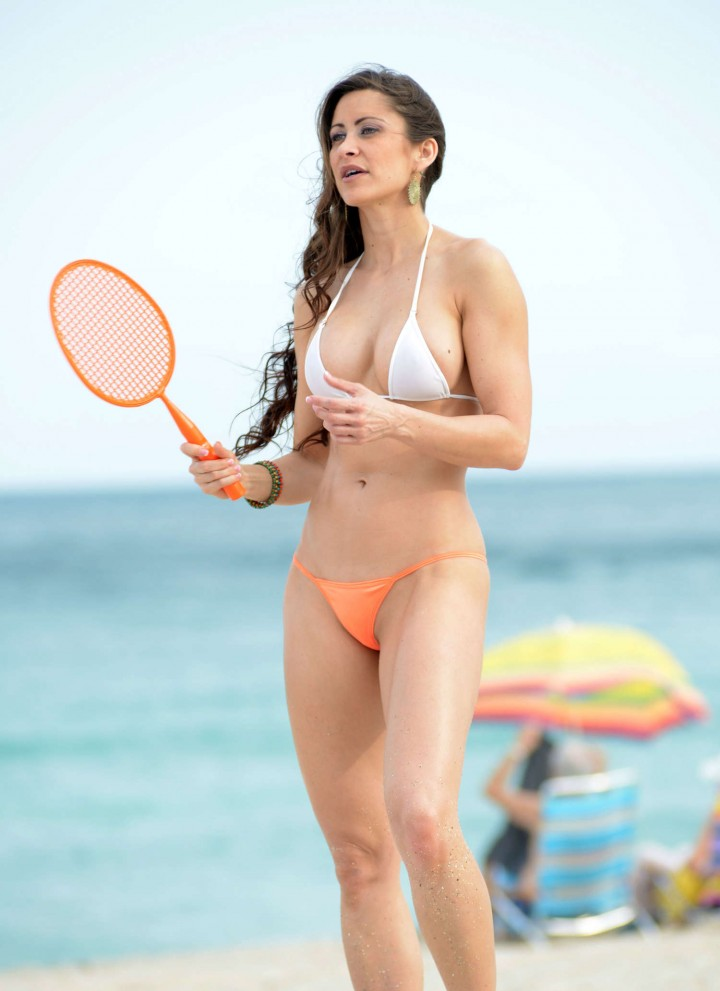 Anais Zanotti And Coralie Teraiefa Bikini Photos: 2014 in Miami -03