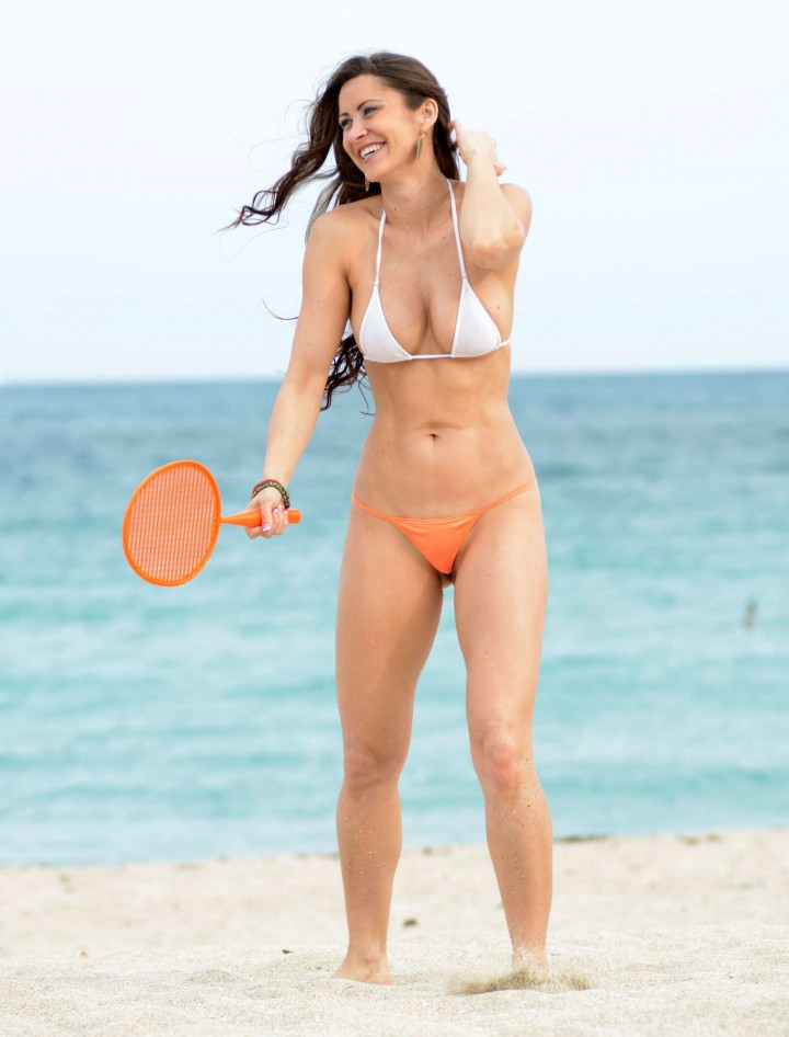 Anais Zanotti And Coralie Teraiefa Bikini Photos: 2014 in Miami -08