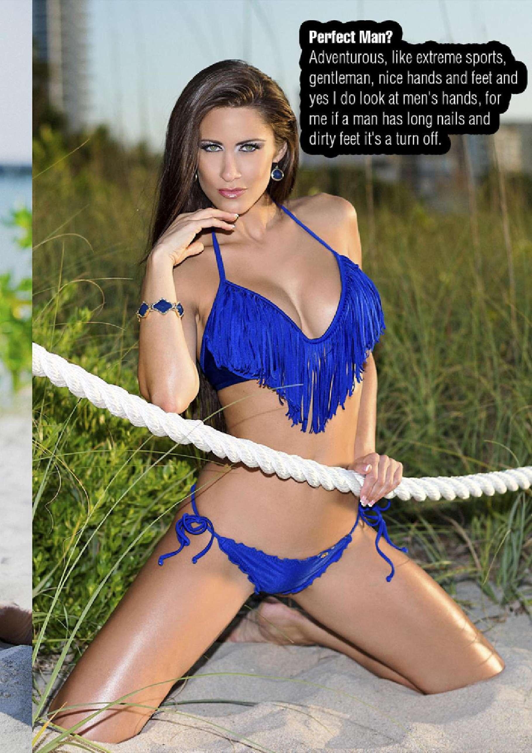 Anais zanotti pictures - Anais Zanotti Fwm Magazine April 2014 02