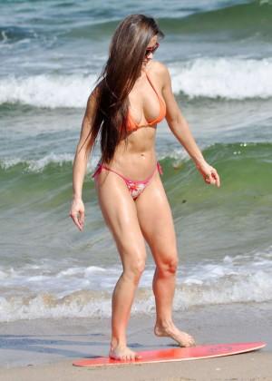 Anais Zanotti Hot Bikini Body in Miami -09