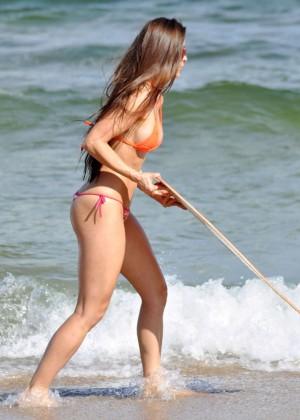 Anais Zanotti Hot Bikini Body in Miami -10
